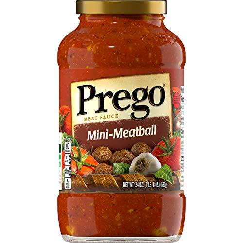 (Prego Mini-Meatball Meat Sauce, 24)