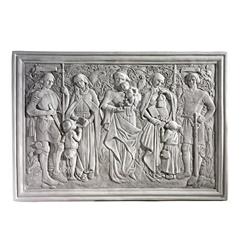 Wall Frieze (Design Toscano Virtues of Honor Sculptural Frieze)