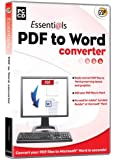 Essentials PDF-to-Word Convertor (PC CD)