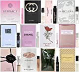Perfumes Best Deals - Women's Designer Fragrance Vial Sampler Set - Lot of 12