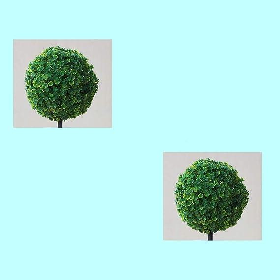 Domire Plantas Artificiales jarr/ón de cer/ámica Plantas Artificiales Flores de simulaci/ón en macetas Decoradas Verde se re/úne la Flor de Las Flores Artificiales para la decoraci/ón