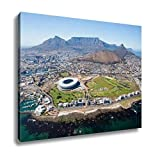 Ashley Canvas, Overall Aerial View Of Cape Town South Africa, Home Decoration Office, Ready to Hang, 20x25, AG5851336