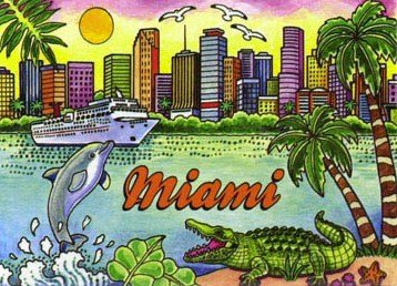 fridge magnets miami - 2