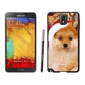 2014 New Style Christmas Cute Dog Samsung Galaxy Note 3,Samsung N9005 Black TPU Cover Case