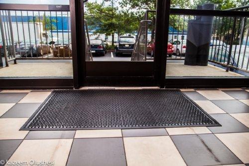rubber scraper mat heavy duty