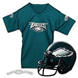 Franklin Sports NFL Philadelphia Eagles Replica Youth Helmet and Jersey Set