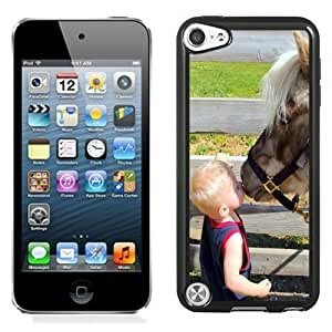 New Personalized Custom Diyed Diy For Touch 5 Case Cover Phone Case For Baby Kissing A Horse Phone