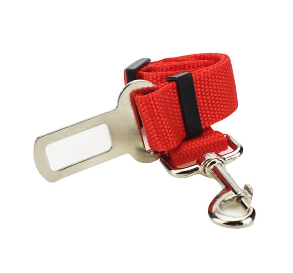 Cintura Tracolla In nylon Adattatore Auto Cintura di Sicurezza per Animali regolabile di alta qualit/à caolator auto cane cintura di sicurezza Cani Cintura Sicurezza Stoviglie