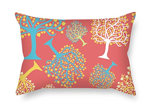 eyeselect 18 X 26 Inches / 45 by 65 cm Tree Pillow Shams Two Sides is Fit for Christmas Gf Festival Home Office Bedding Him for Christmas