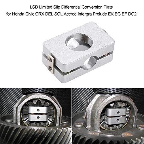 (Fincos LSD Limited Slip Differential Conversion Plate for Honda Civic CRX DEL SOL Accrod Intergra Prelude EK EG EF DC2)
