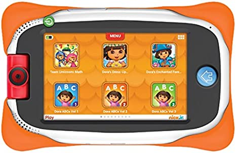 """j#2 New Nabi Tablet 7"""" For Kids 16 GB-white With Red Bumper."""