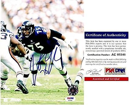 3d1132d85 Jonathan Ogden Autographed Baltimore Ravens 8x10 Photo - PSA DNA ...