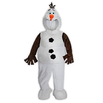34896968912c Amazon.com  Disney Store Frozen Olaf Plush Costume for Kids (5 6) by ...