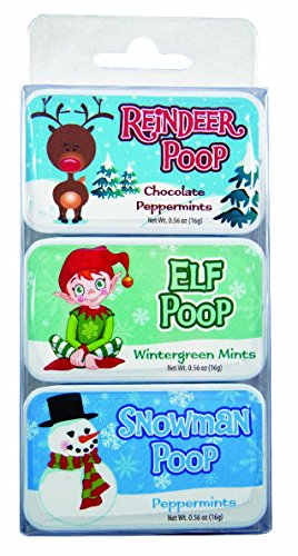 Holiday Poop Mint Tins (3) ()
