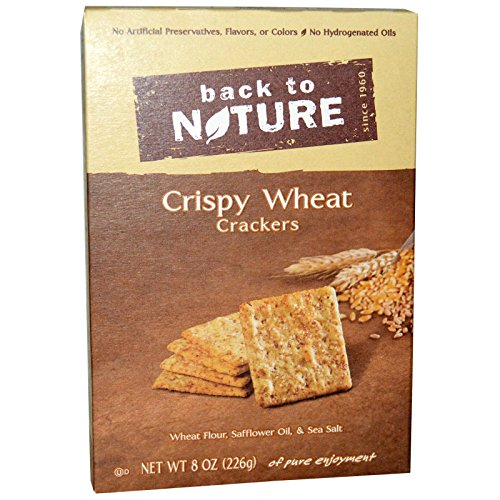 Back to Nature, Crispy Wheat Crackers, 8 oz (226 g) Back to Nature, Crispy Wheat Crackers, 8 oz (226 g)