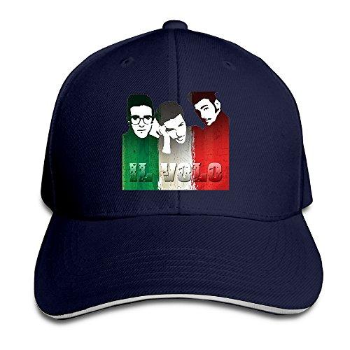 Logon 8 My Way-Il Volo Fashion Sun Hat Navy One (Jensen Button)