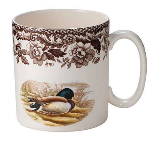 Spode Woodland Mallard and Wood Duck Mug by Spode