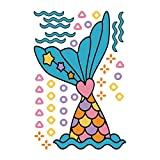 whoopie cushion toilet seat Children's Creative Refrigerator Toilet Room Kindergarten Fish Wall Stickers,Feccile Mural Decoration Affixed Living Bedroom Painting Decorative Removable Vinyl DIY Wall Window Door Decal - 20X30cm