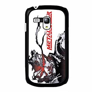 Cover Shell Fashion Cool Tactical Espionage Game Metal Gear Solid Phone Case Cover for Samsung Galaxy S3 Mini Metal Gear Classical