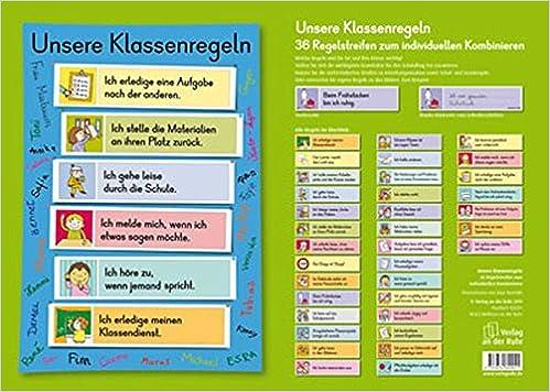 Klassenregeln grundschule bildkarten  Unsere Klassenregeln: 36 Regelstreifen zum individuellen Kombinieren ...
