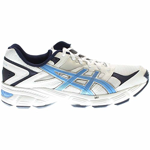 ASICS Women's Gel 190 TR Training Shoe, White/Periwinkle/Midnight Navy, 9.5 M US