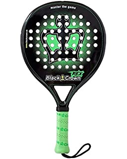 BLACK CROWN REX 2018 - - (Padel - Pop Tennis - Platform Tennis - Paddle