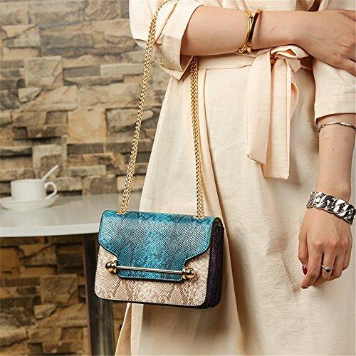 bleu main pour JUND femme à Sac Bleu Bleu 1qFAxg6A
