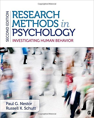 Research Methods in Psychology: Investigating Human Behavior
