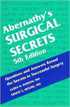 Abernathy's Surgical Secrets, 5e
