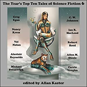 The Year's Top Ten Tales of Science Fiction 6 Audiobook