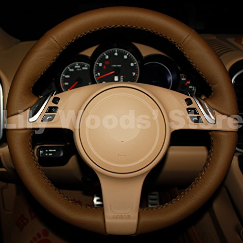 steering wheel cayenne cover - 5
