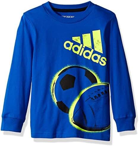 Adidas Boys' Basic Long Sleeve Tee Shirt
