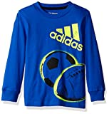 adidas Boys' Basic Long Sleeve Tee Shirt