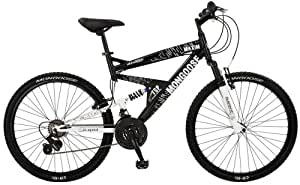Mongoose Maxim Men's Dual Suspension Mountain Bike (26-Inch Wheels)