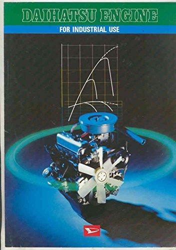 Industrial Crawler (1973 Daihatsu Tractor Crawler Shovel Fire Pump Industrial Engine Brochure)