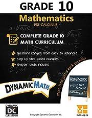 Dynamic Math Workbook - Complete Grade 10 Mathematics Curriculum (AB, SK, MB Edition)
