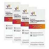 vH Essentials Prebiotic Vaginal Suppositories, pH