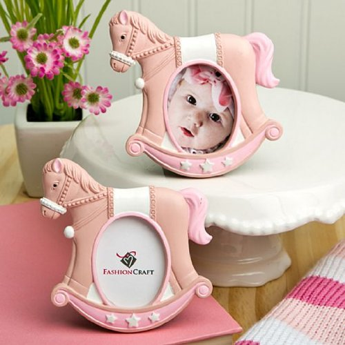 Pink Rocking Horse Place Card/Photo Frames