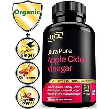Amazon.com: Organic Apple Cider Vinegar Capsules with