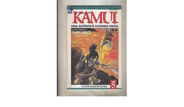 La leyenda de Kamui una autentica historia Ninja numero 5 ...