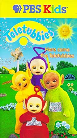 Amazoncom Teletubbieshere Come The Teletubbies Vhs Rolf Saxon