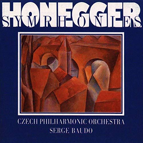 Honegger: Symphonies Nos 1-5, Pacific 231, Mouvement symphonique No. ()