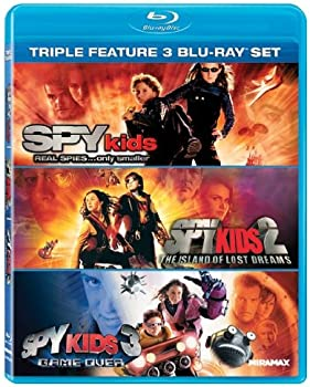 Spy Kids / Spy Kids 2 / Spy Kids 3 Game Over on Blu-ray