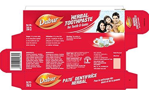 Dabur Herbal Toothpaste 200gm