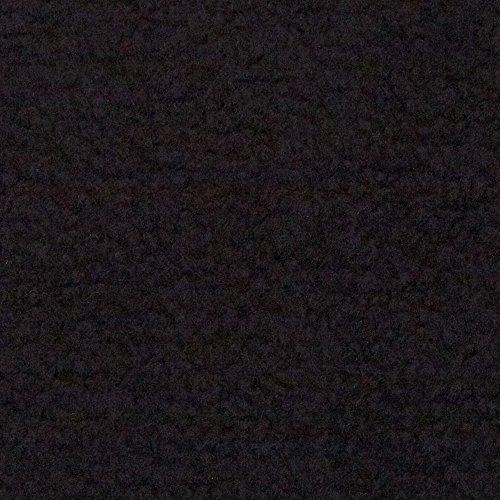 Fabric Merchants Warm Winter Fleece Solid Black