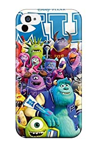 Premium QkBcaZT9310MQNzQ Case With Scratch-resistant/ Monsters University Case Cover For Iphone 4/4s Sending Screen Protector in Free