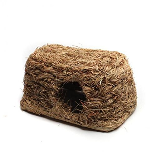 Baoblaze Hamster Grass Sleeping House Small Animal Supplies Beds Hammocks Nesters from Baoblaze