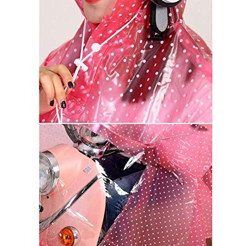 Impermeabile Ciclomotore Semplicemente Più Poncho Elettrica Vento Applicare Purple Doppio Trasparente Addensato Neve Abbigliamento Auto E 8EnrqWx8