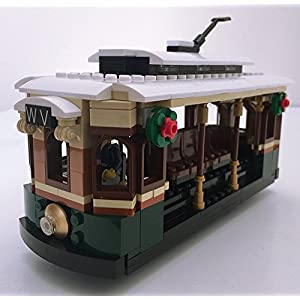 Winter Village Tram - Lego® Parts & Instructions Kit - 51ADKucWumL - Winter Village Tram – Lego® Parts & Instructions Kit