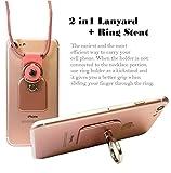 AccessoryHappy Universal 2 in 1 Phone Lanyard & Ring...